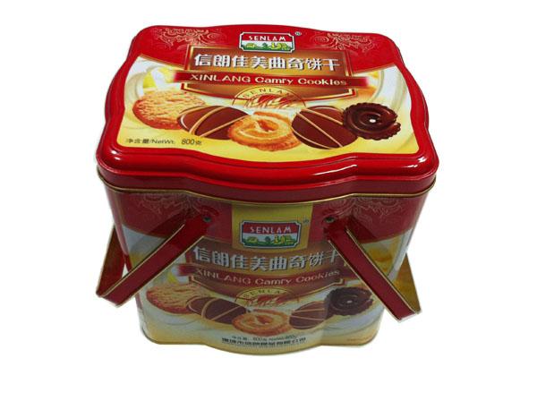 曲奇饼干包装铁盒