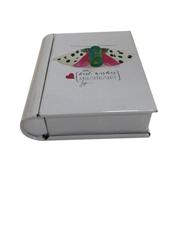 马口铁书本盒 方形收纳盒