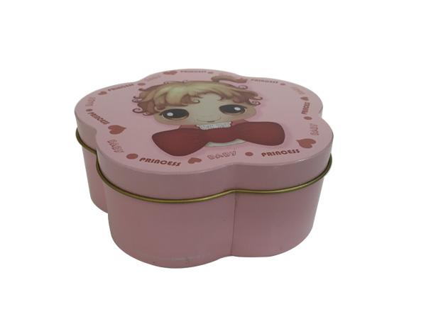 异形卡通糖果盒 婚庆喜糖铁盒