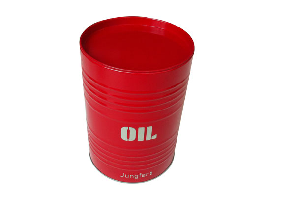圆形金属油桶罐_五金罐