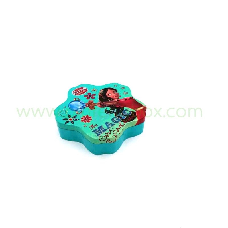玩具铁盒 马口铁圣诞糖果礼品包装铁盒 定制