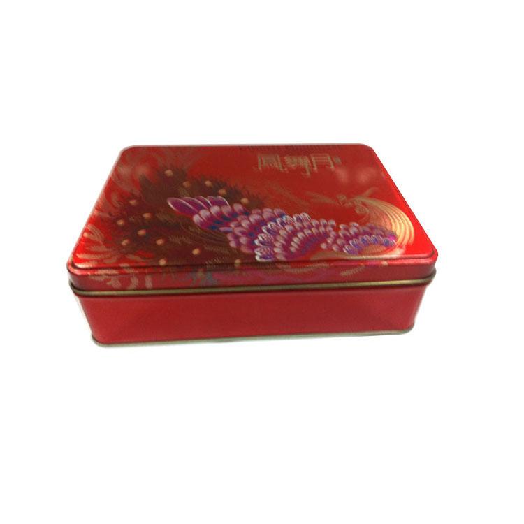 马口铁盒批发 方形月饼铁盒