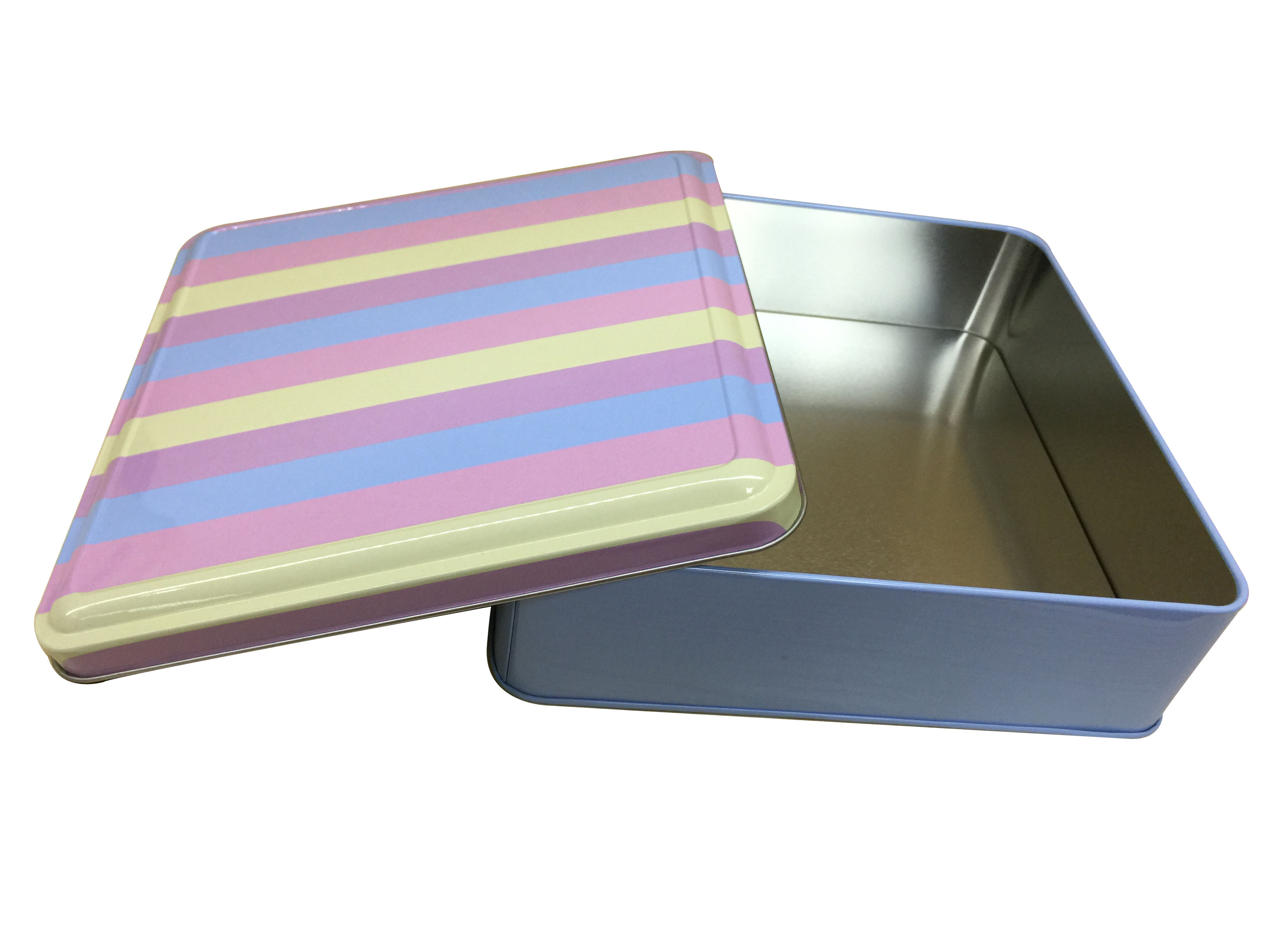 正方形食品鐵盒 巧克力包裝