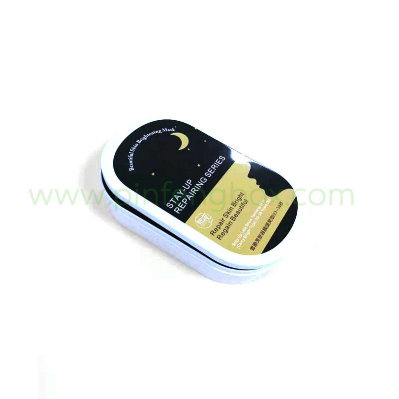马口铁铁盒型号 异型化妆品定制