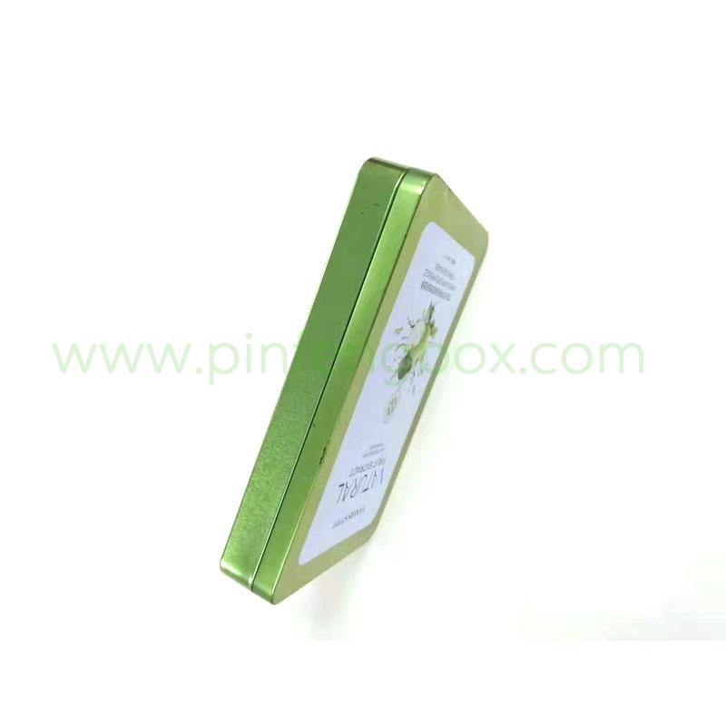 马口铁盒印刷 长方形化妆品定制