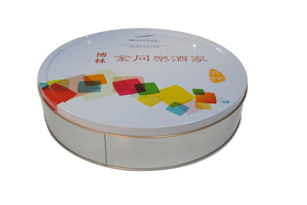 月饼铁盒包装罐 厂家饼干铁罐定制