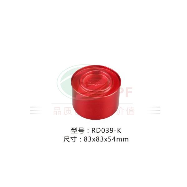 圆形包装铁盒