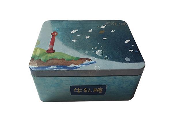 方形名信片铁盒_马口铁盒