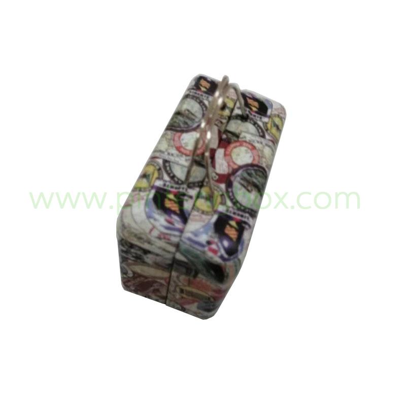 马口铁两片手提包套装盒生产厂家