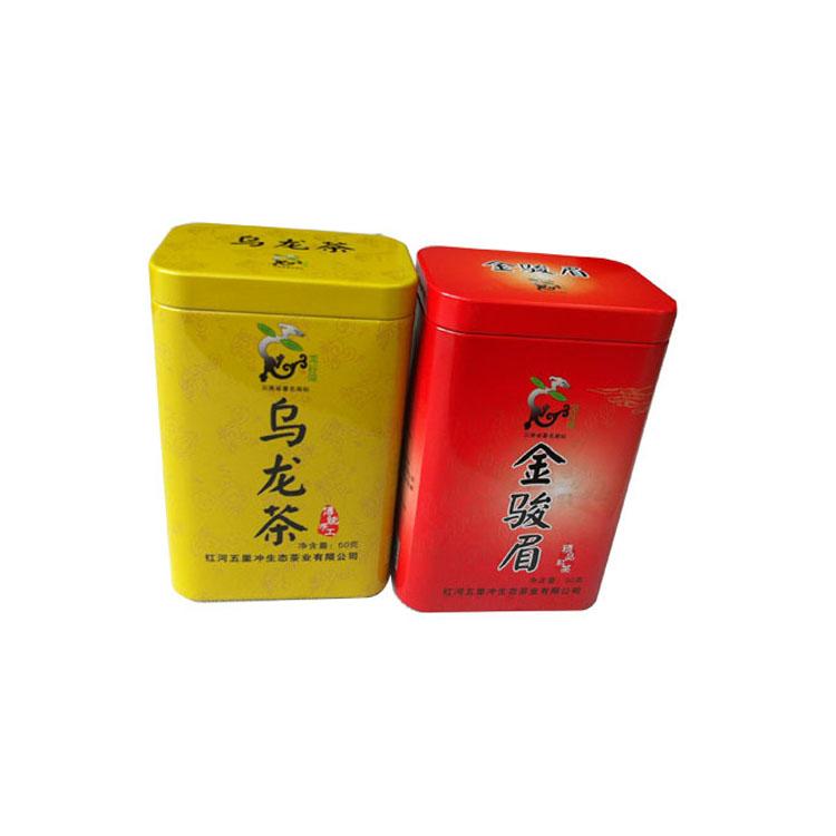 茶叶铁盒厂家 马口铁茶叶罐