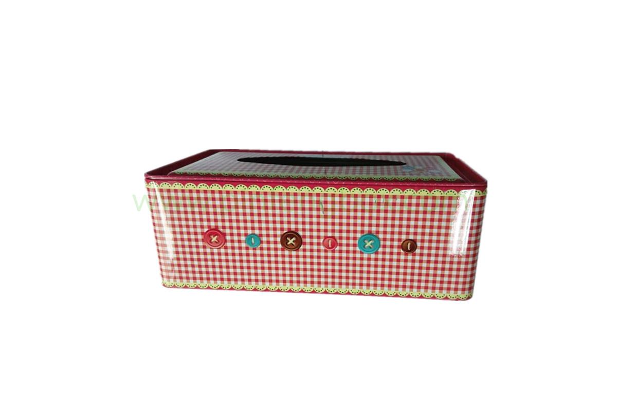 方形创意纸巾盒