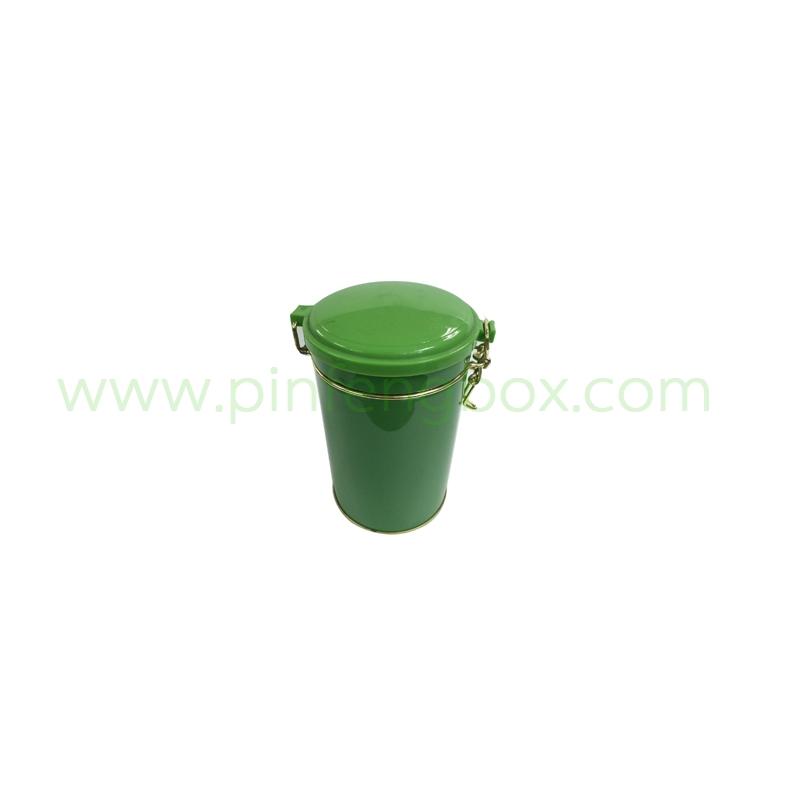 龙井茶铁盒包装图片