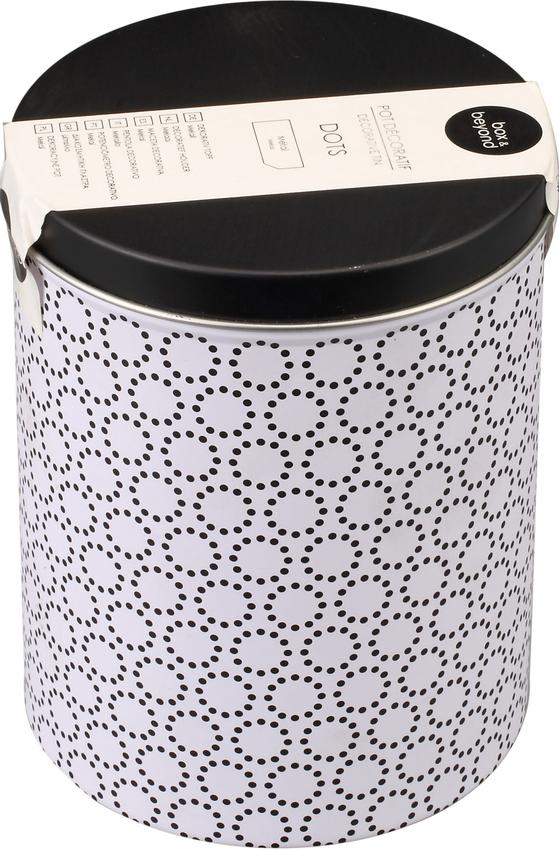 厂家定制圆形马口铁罐 储物罐