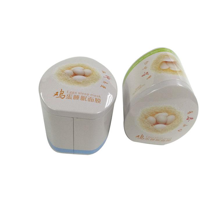 广州化妆品铁盒包装 鸡蛋面膜盒定制