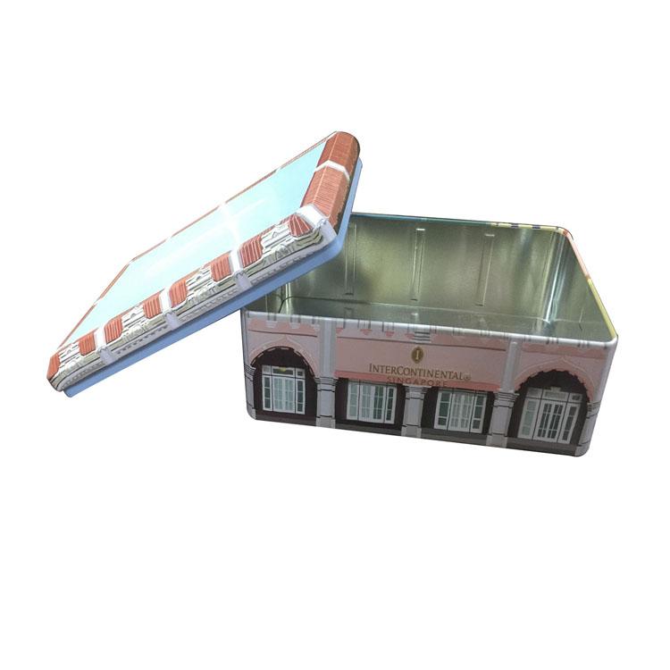 金属铁盒包装 工厂长方包装铁盒