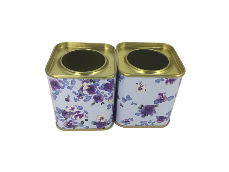 惠州铁盒子包装 礼品糖果铁罐